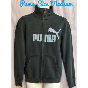 PUMA Mens Zip Up Sweater Size  Medium